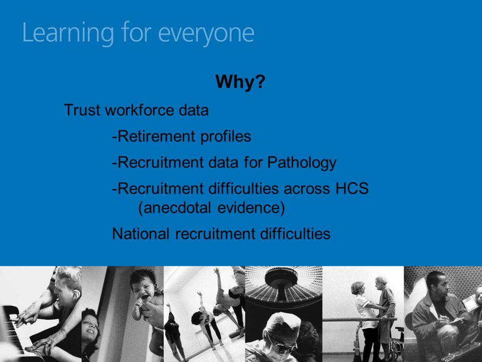 Future work for HCS scheme Specialist pathways (e.g.