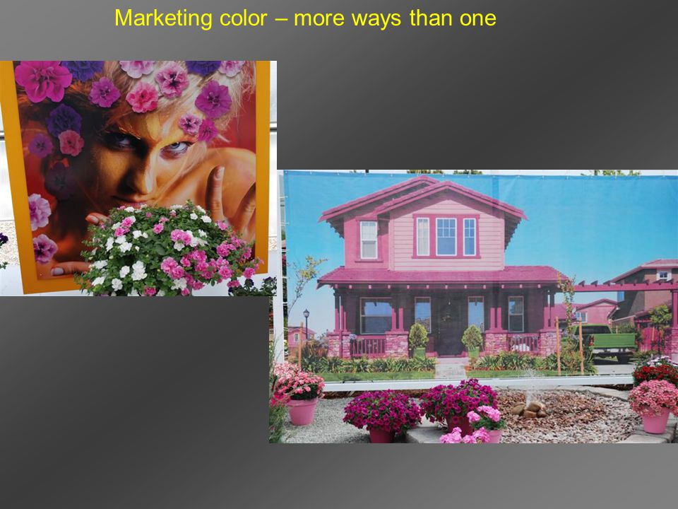 Marketing color – more ways than one