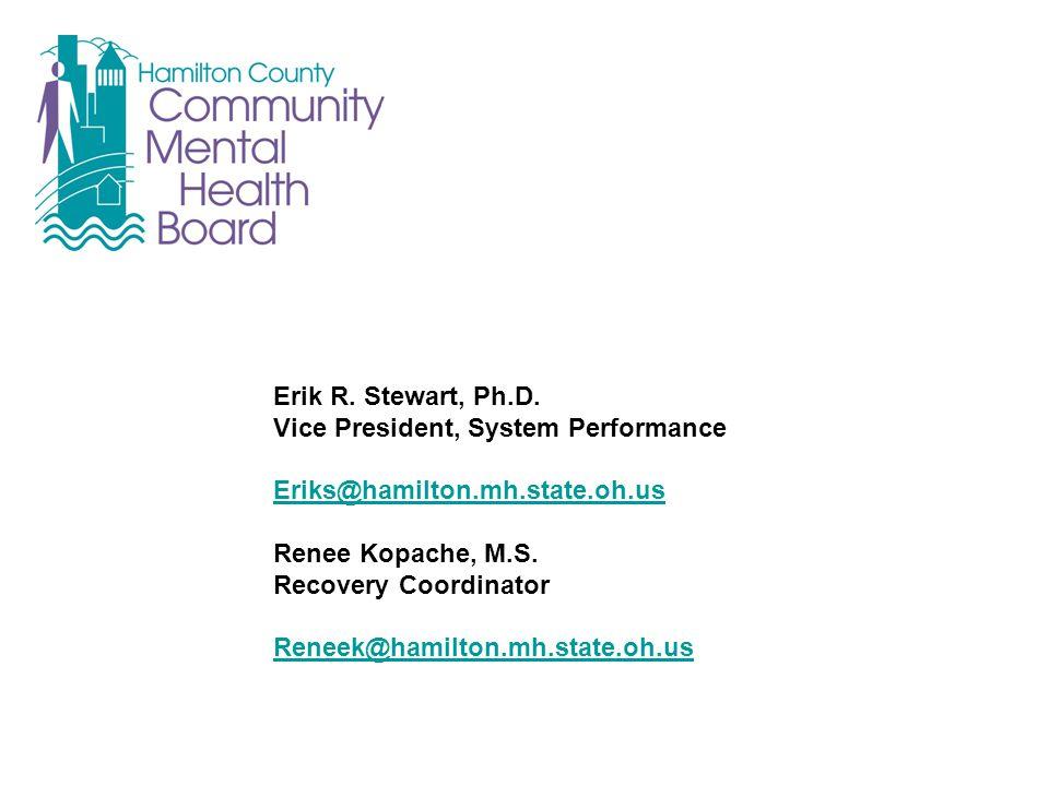 Erik R. Stewart, Ph.D.
