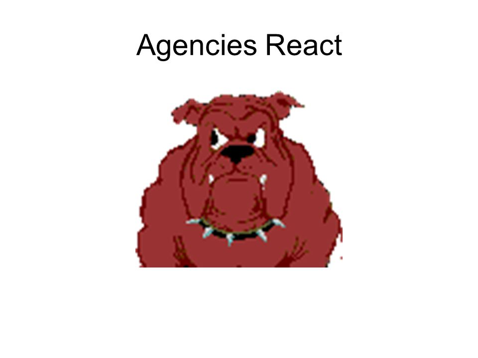 Agencies React