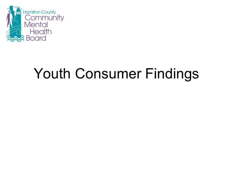 Youth Consumer Findings