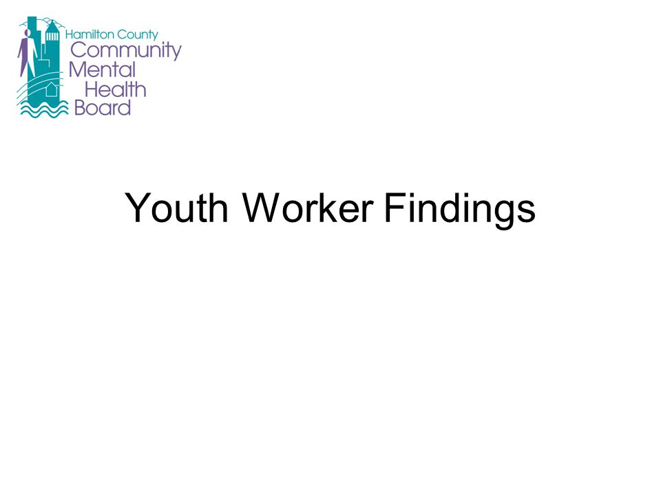 Youth Worker Findings