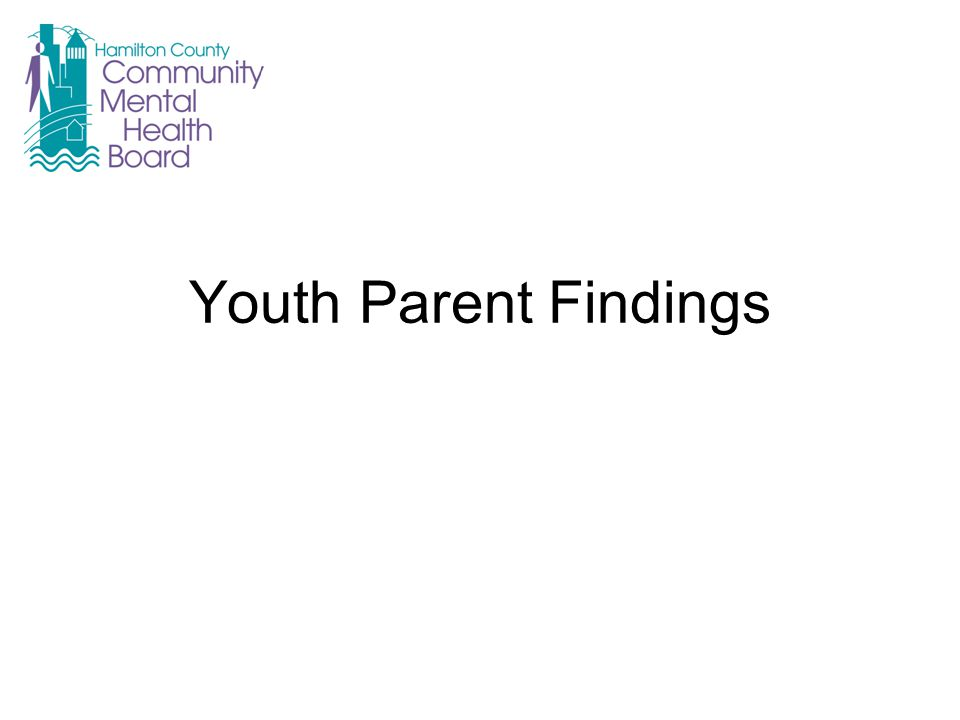 Youth Parent Findings