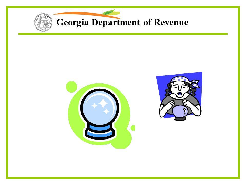 Georgia Department of Revenue