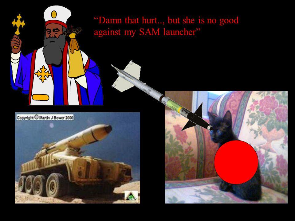 U cannot kill me god I shall set trinity and the evil staring eyes on u she can not kill me