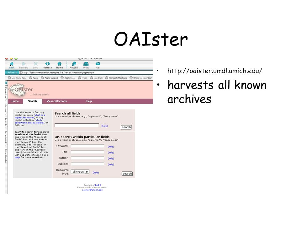 OAIster http://oaister.umdl.umich.edu/ harvests all known archives