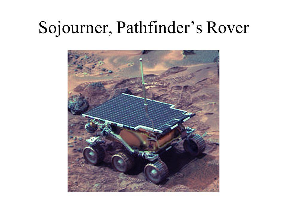 Sojourner, Pathfinder's Rover