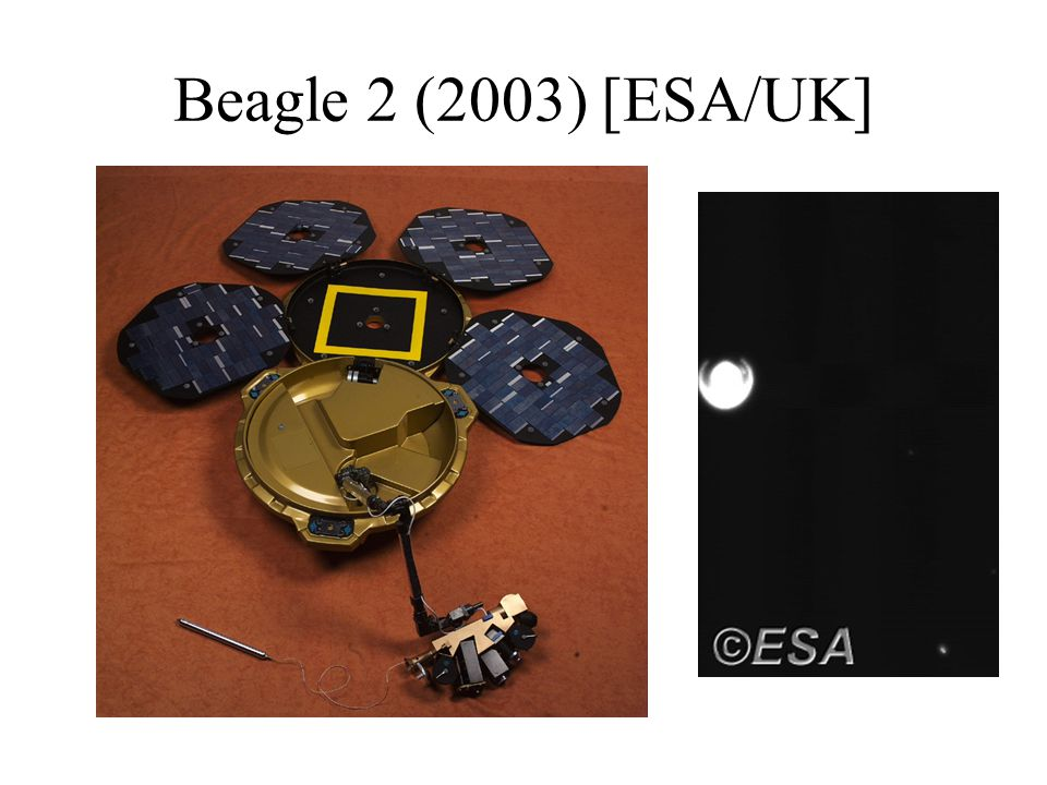 Beagle 2 (2003) [ESA/UK]