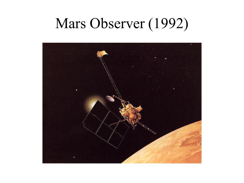 Mars Observer (1992)