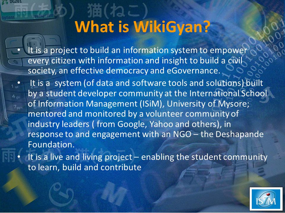 What is WikiGyan.