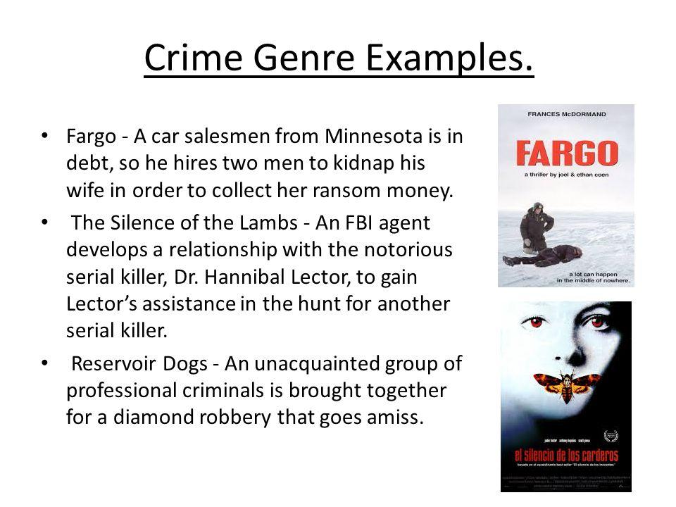 Crime Genre Examples.