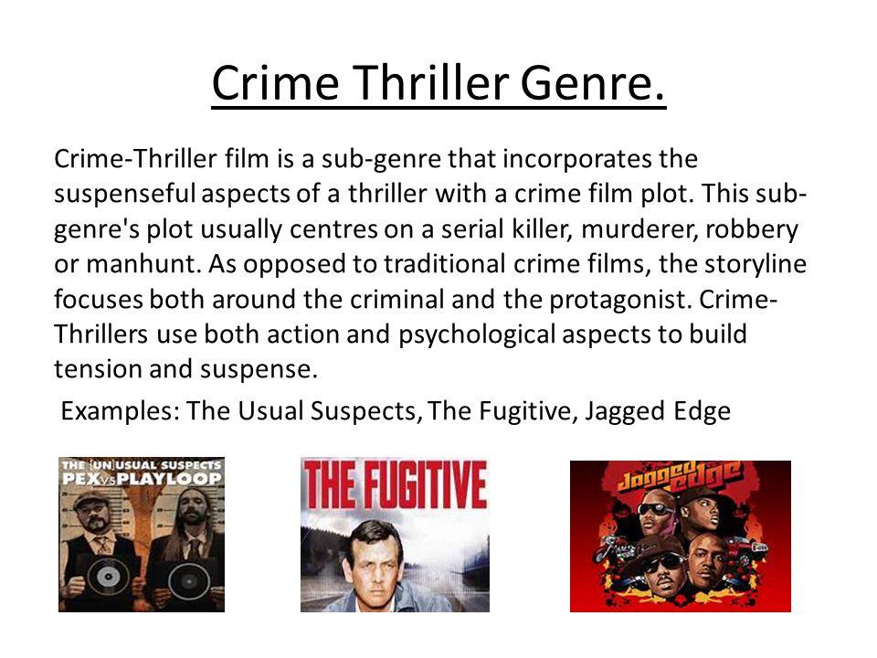 Crime Thriller Genre.