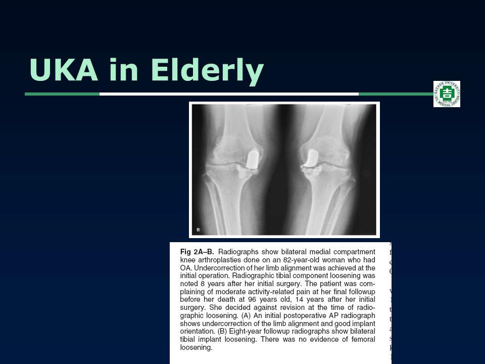 UKA in Elderly O'Rourke, CORR, 2005