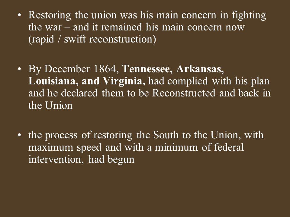 Republican Reconstruction Plan 1.