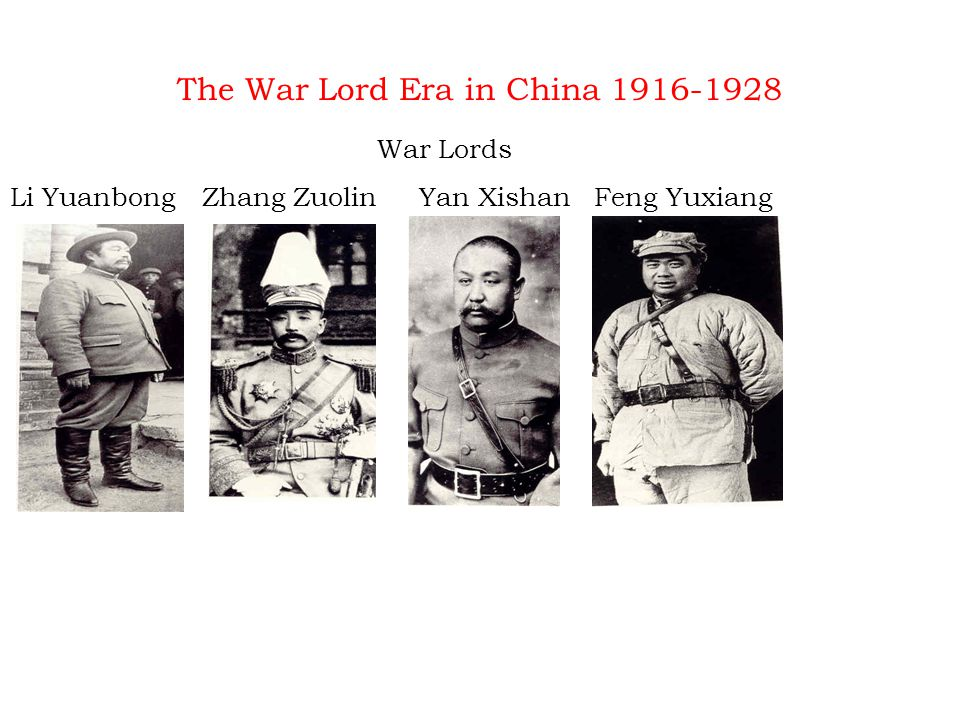 Chinese Civil War With the outbreak of WWII the Japanese posed an even bigger threat, taking Manchuria and putting Pu Yi on the throne as a puppet.