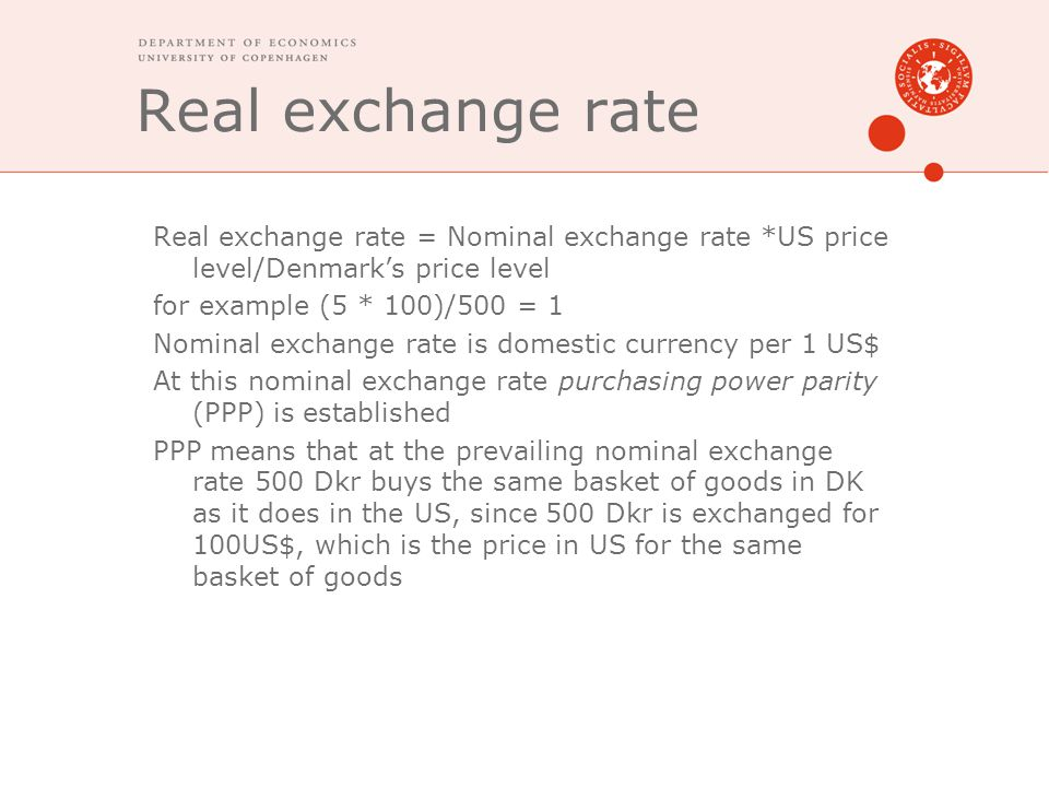 1970s to today Initially floating exchange rates seen as a temporary measure.