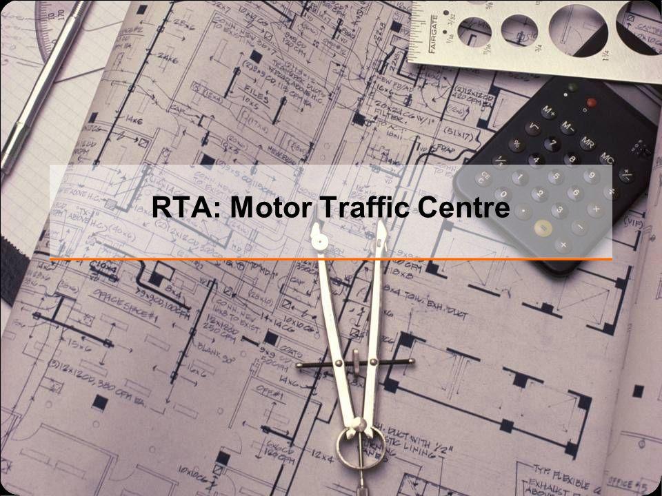 RTA: Motor Traffic Centre