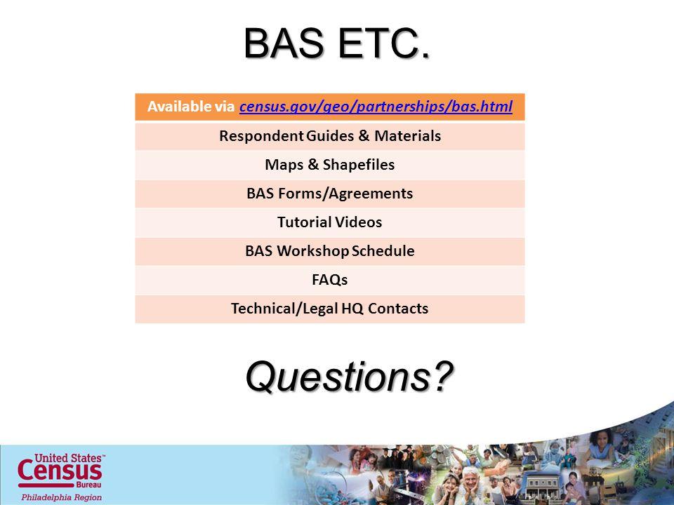 BAS ETC.