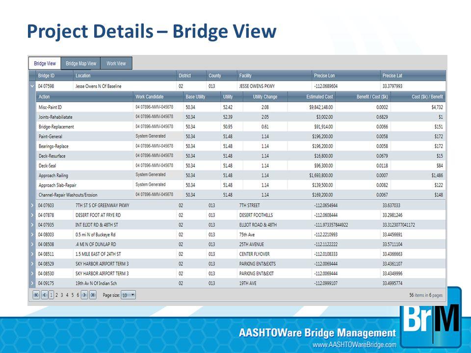 Project Details – Bridge View