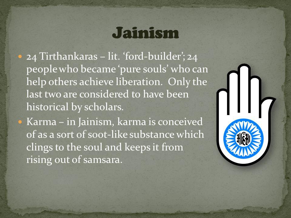 24 Tirthankaras – lit.