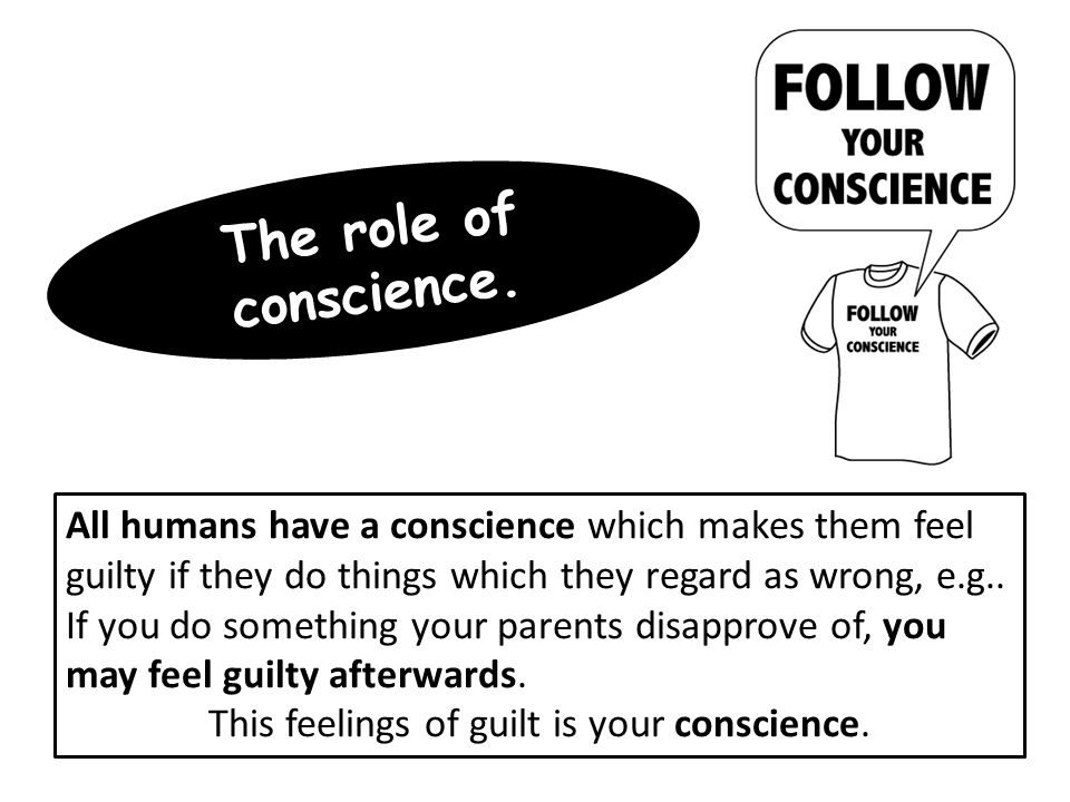 Catholic Church teach: Final part of moral decision making.