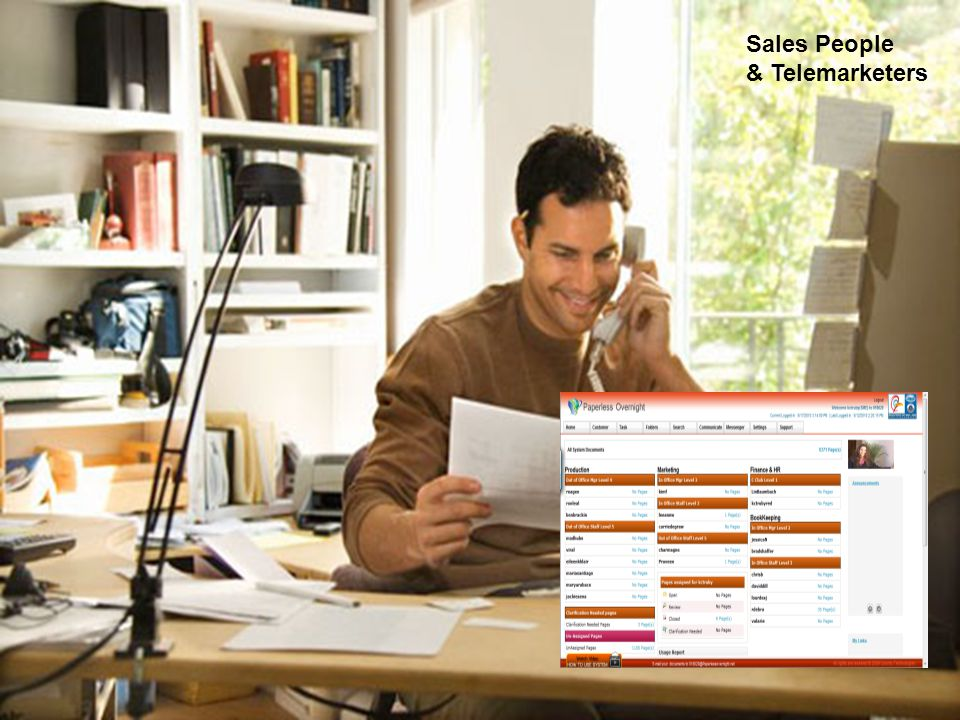 Sales People & Telemarketers