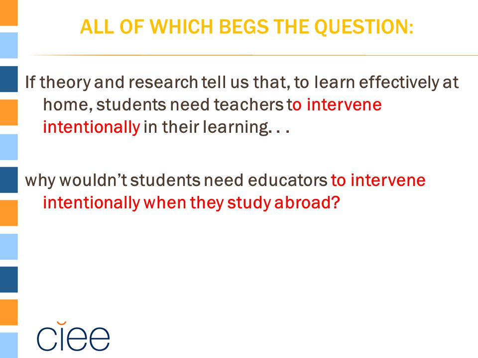 ALL OF WHICH BEGS THE QUESTION: If theory and research tell us that, to learn effectively at home, students need teachers to intervene intentionally i