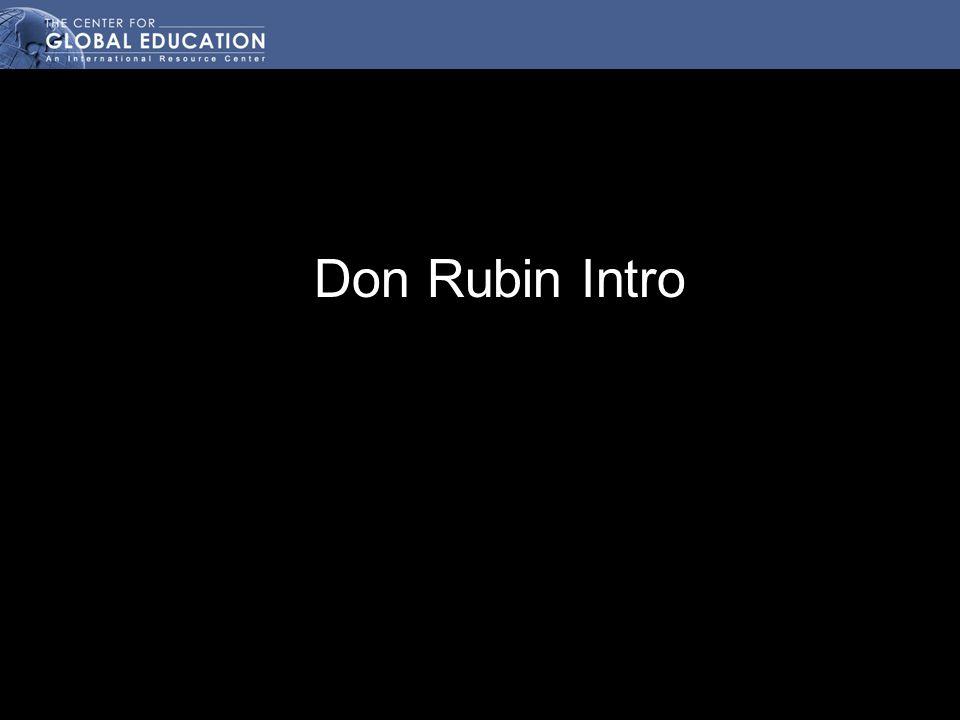 Don Rubin Intro