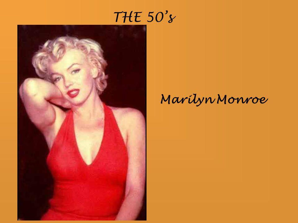 Marilyn Monroe THE 50's