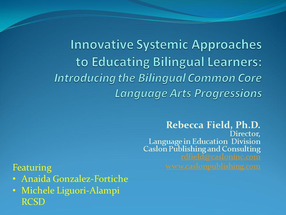 Rebecca Field, Ph.D.