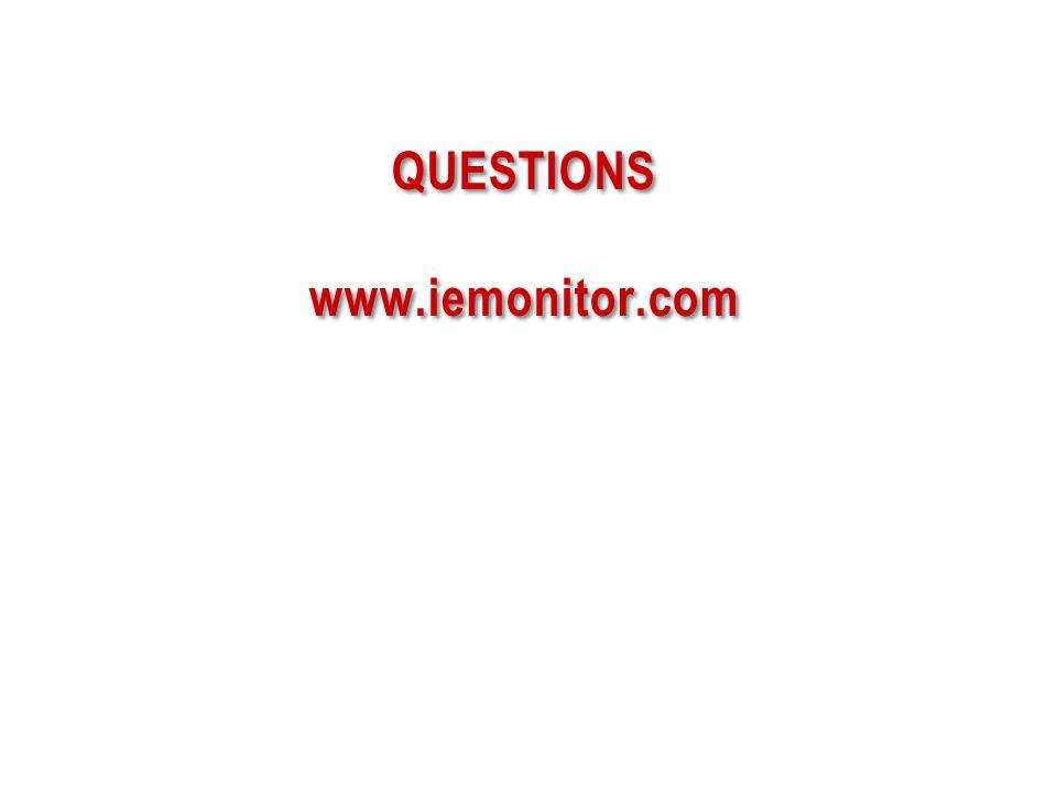 QUESTIONS www.iemonitor.com 56