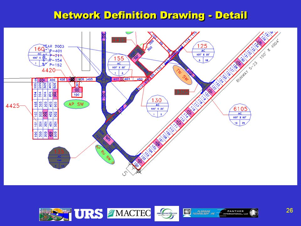 26 Network Definition Drawing - Detail