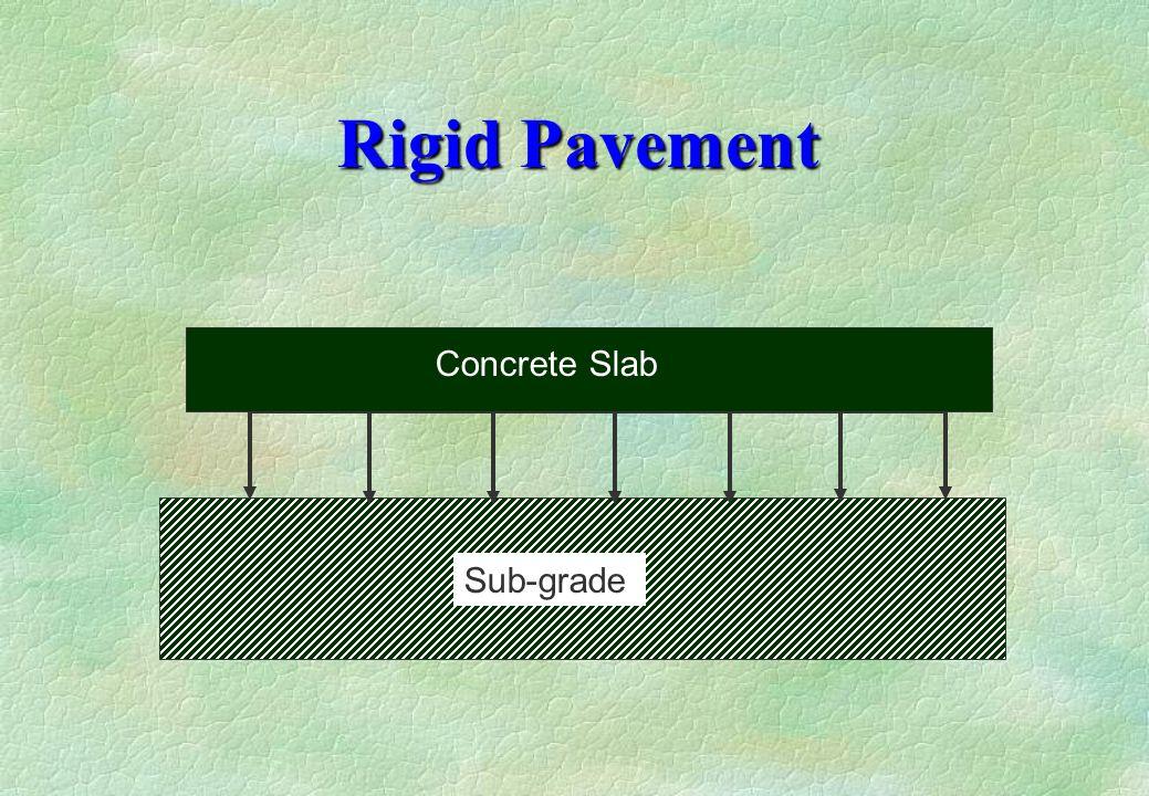 Rigid Pavement Concrete Slab Sub-grade