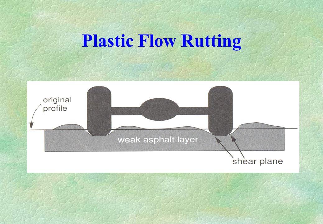 Plastic Flow Rutting