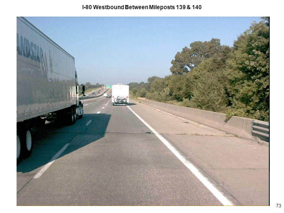 73 I-80 Westbound Between Mileposts 139 & 140
