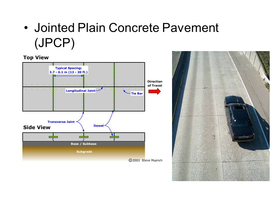 Example Of Pavement Design For A New Bypass