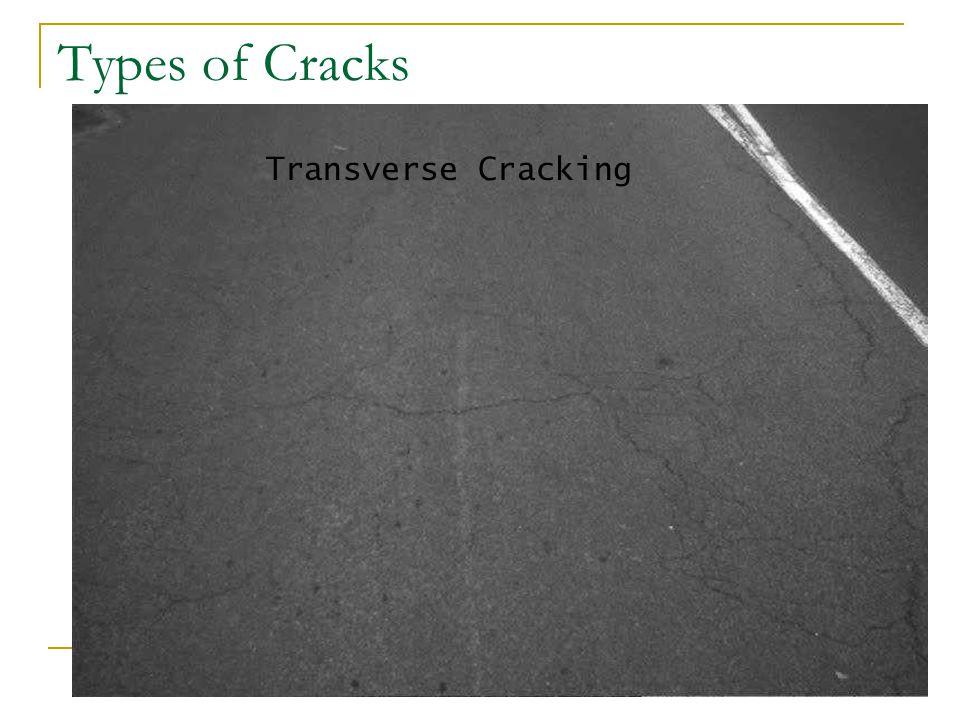 Types of Cracks Transverse Cracking