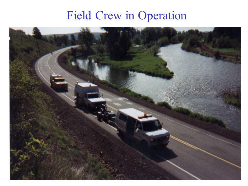 Field Crew in Operation