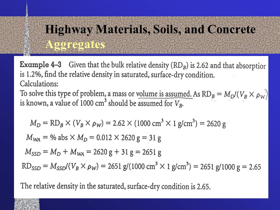ENCI 579 438 Highway Materials, Soils, and Concrete Aggregates