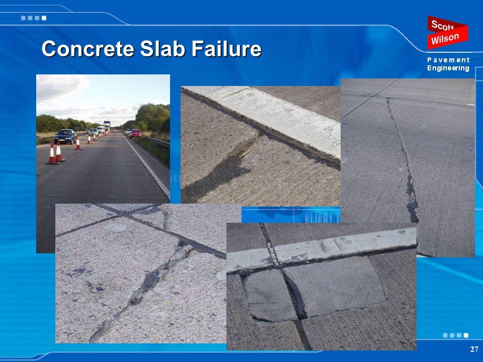 27 Concrete Slab Failure