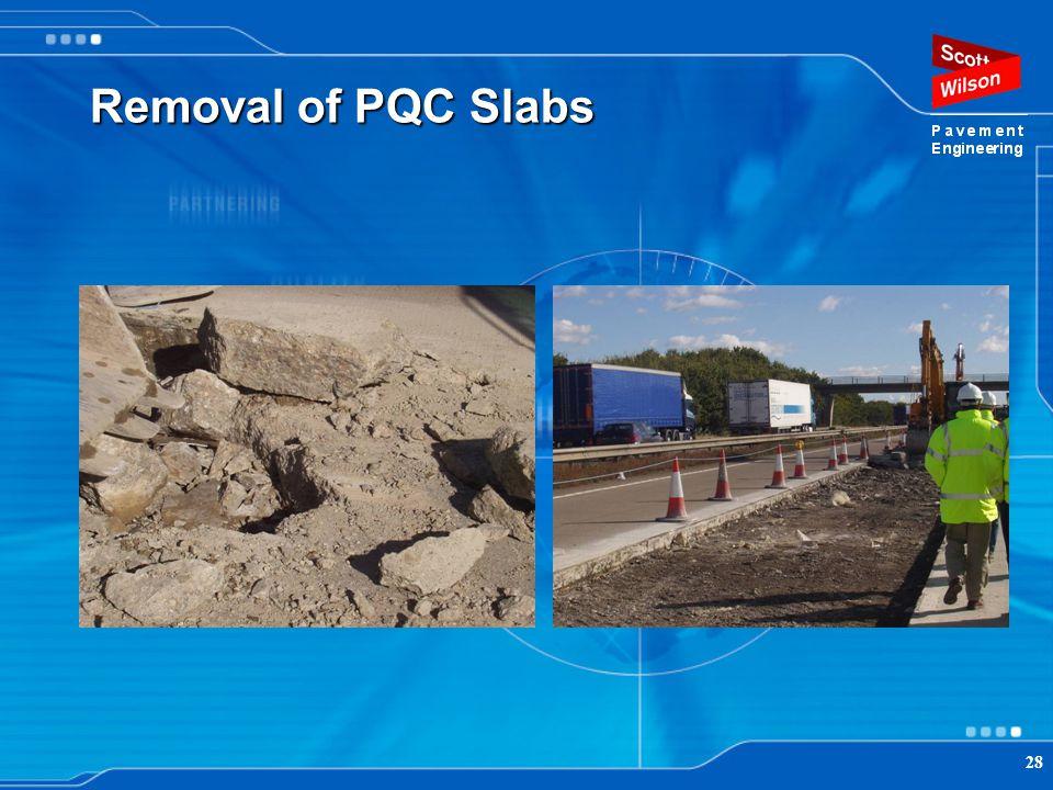 28 Removal of PQC Slabs