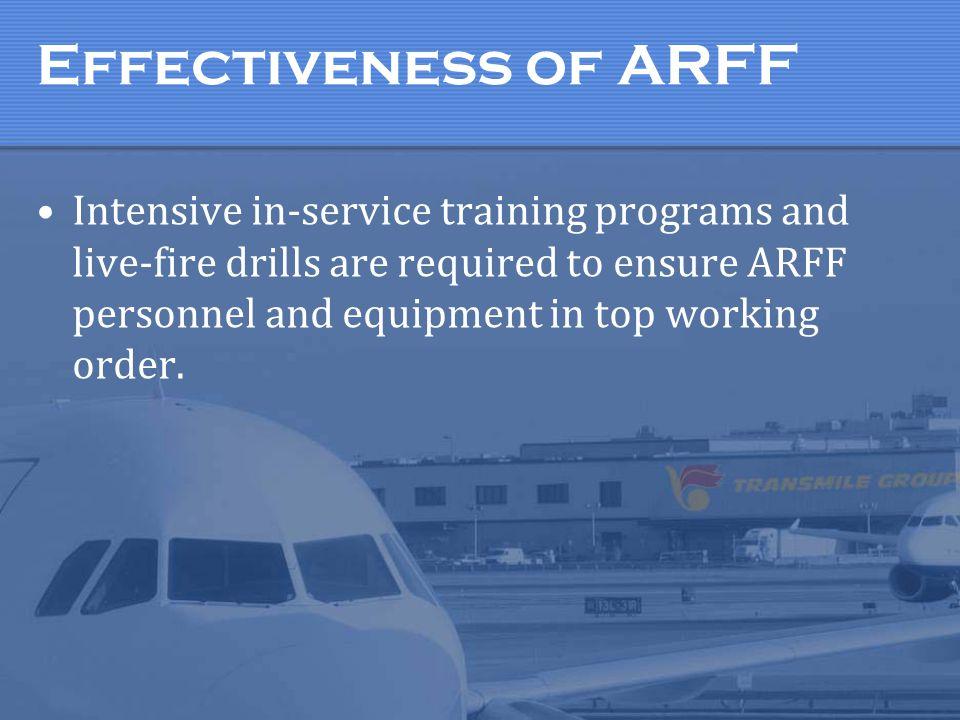 ARFF Typical ARFF Vehicles