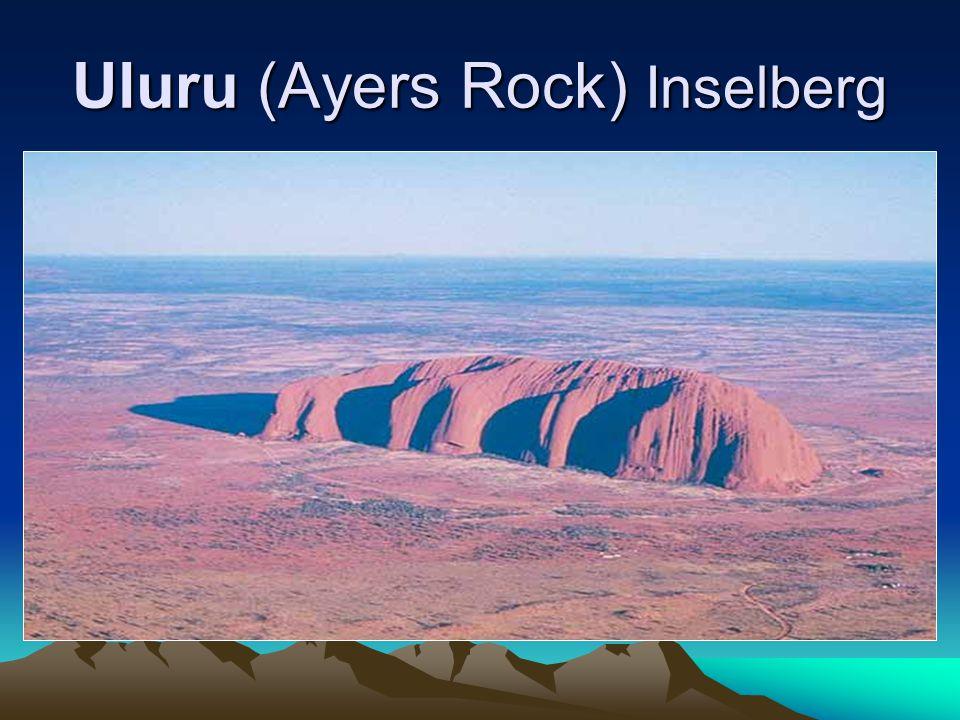 Uluru (Ayers Rock) Inselberg