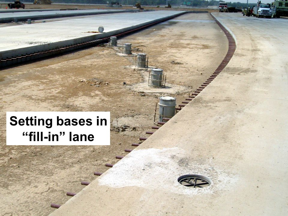 19 Setting bases in fill-in lane