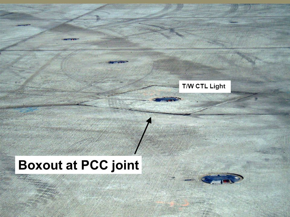 29 Boxout at PCC joint T/W CTL Light