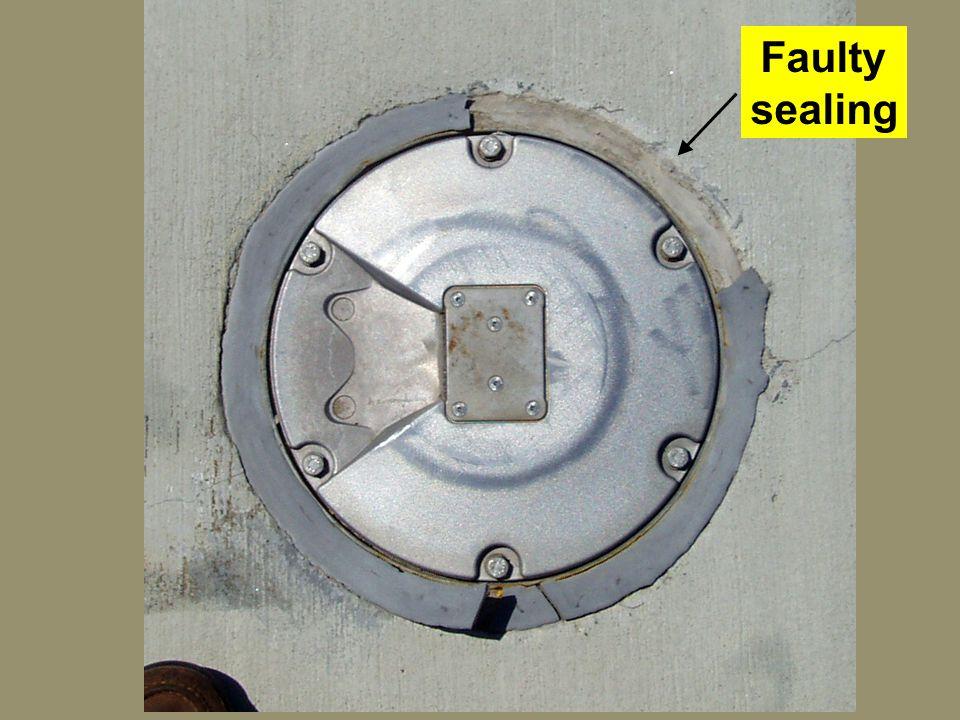 35 Faulty sealing
