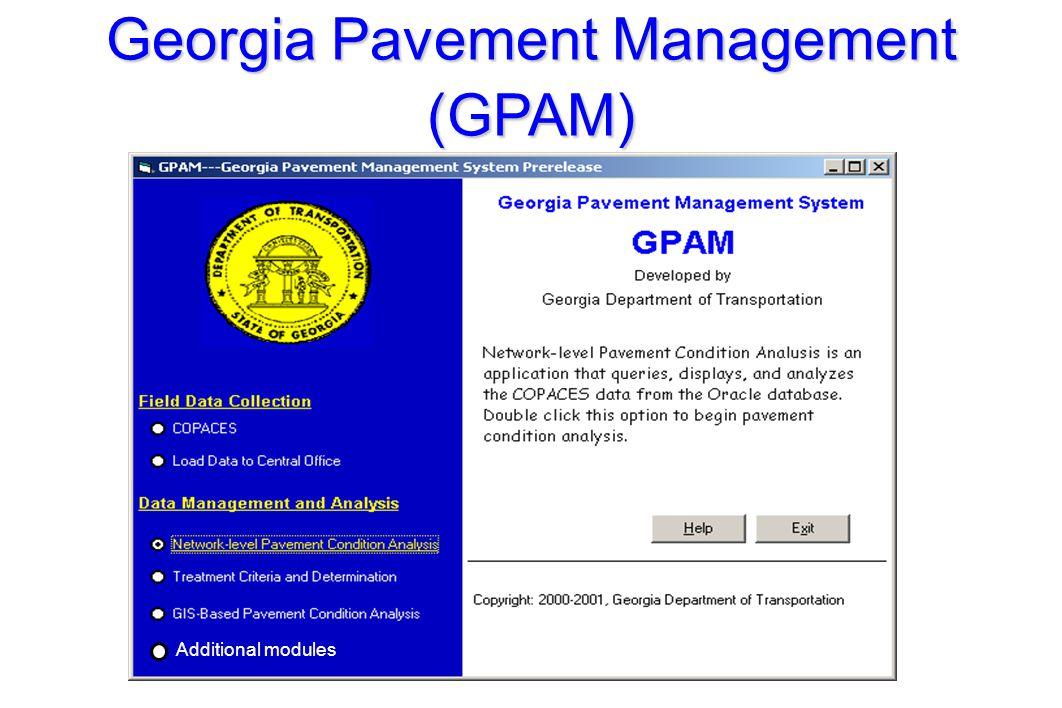 PMM Practices in GDOT l 18, 000 mile centerline highway.