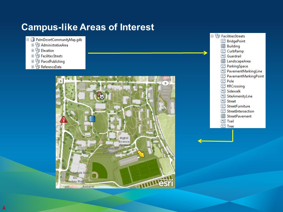 Campus-like Areas of Interest A