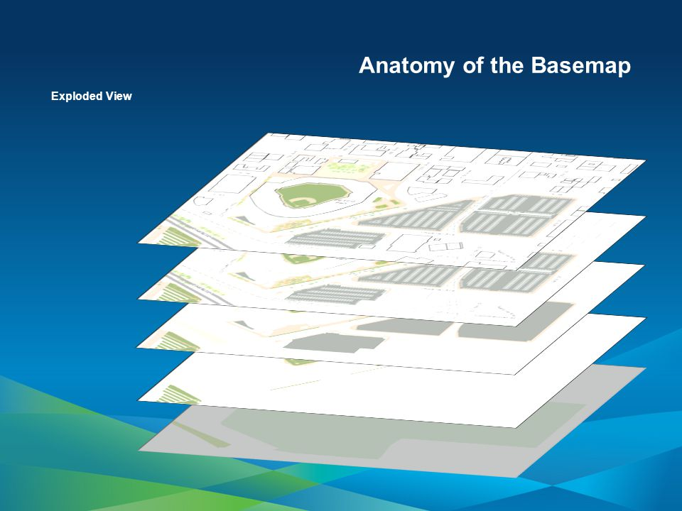 Anatomy of the Basemap Facility Site Polygons Parks Stadium Property