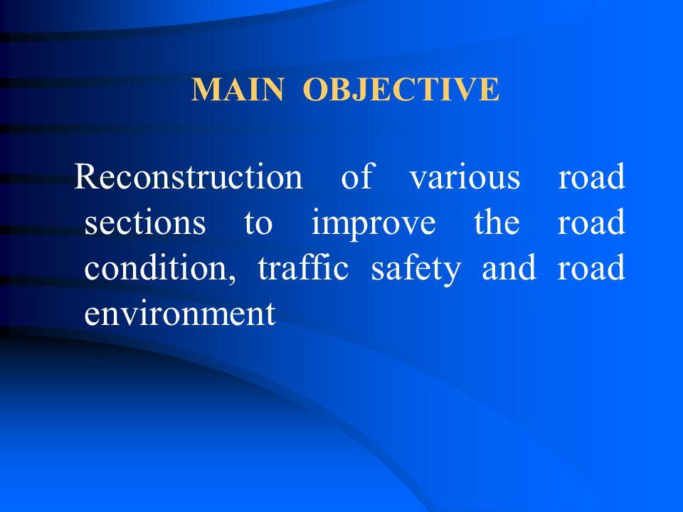 TRAFFIC SAFETY Improvement of road junctions Elimination of entrances, U-turns, technologic turns Improvement of visibility Renovation of pedestrian tunnels - 2 pcs Sidewalks - 2,7 km Guard-rails - 30 km Road lightning - 3,5 km Road marking - rumble strips